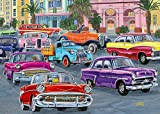 Ravensburger 14994 Cruisin' 500 Piece Large Pieces Jigsaw Puzzle for Adults - Every Piece is Unique, Softclick Technology Means Pieces Fit Together Perfectly