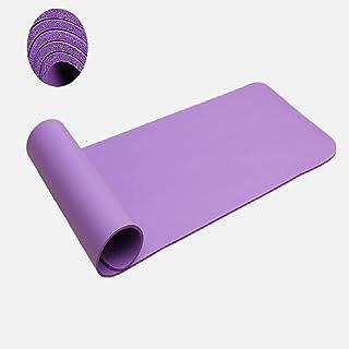 LXHDKDT Tapis de Yoga 20 MM Super épais Tapis de Yoga Anti-dérapant NBR pour Yoga débutant Gym Fitness Tapis d'exercice In...