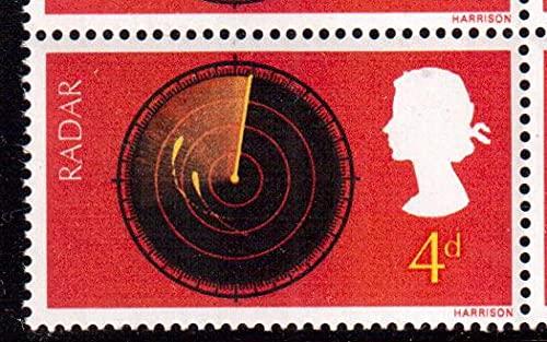FGNDGEQN Colección de Sellos 1 Escaneo de Radar en 1967