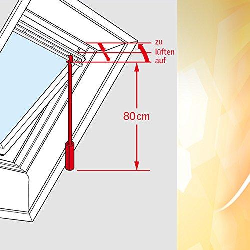 Original Velux Bedienungsstange 80 cm für VELUX Schwingfenster ZCZ 080