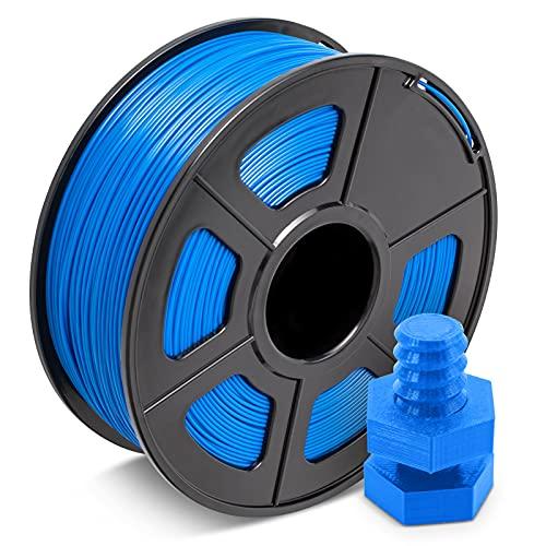 ABS Filament 1.75mm Blau, JAYO 3D Drucker Filament 1KG 1 Spule, Toleranz +/- 0,03mm