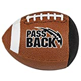 Peewee Composite Passback Football, Ages 4-8, Elementary Training Football
