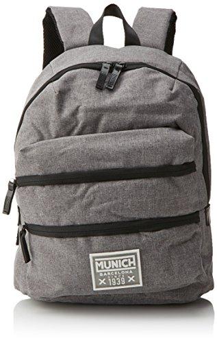 Munich 650016, Mochila Unisex Adultos, Gris (Grey), 18x40x33 cm (W x H...