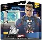 Disney Infinity 3.0 - Marvel Playset Battlegrounds, Incluye Figura Capitán América