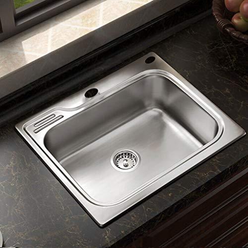 Kitchen Sink. Fregaderos de Cocina Níquel Cepillado Acero Inoxidable Fregaderos Dobles Lavabo...