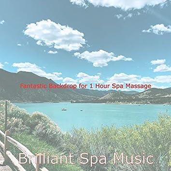 Fantastic Backdrop for 1 Hour Spa Massage