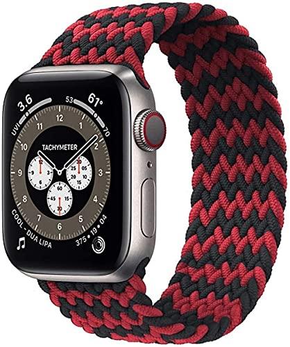 apple watch バンド iwatch バンド 編組バンド【2021年最新スタイル】ブレイデッドソロループバンド apple watch 6/5/4/3/2/1/SEに対応 アップルウォッチ バンド; セール価格: ¥1,869 - ¥1,954