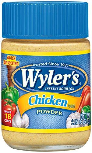 Wyler's Chicken Instant Bouillon Powder (2.25 oz Jars)