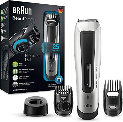 Braun Bartschneider BT5090 – Barttrimmer und Haarschneider, ultimative Präzision für ideales Trimmen und Styling (Auslaufmodell)