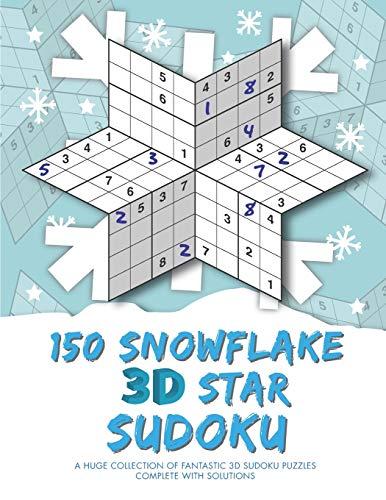150 Snowflake 3D Star Sudoku