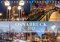 Stadtportrait Osnabrueck (Tischkalender 2022 DIN A5 quer): Eindrucksvolle Fotografien von Osnabrueck (Monatskalender, 14 Seiten )