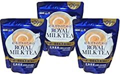 You will receive (3) bags of Nitto Royal Milk Tea 9.87oz (280g) Premium Japanese Milk Tea Enjoy this delicious Japanese Milk Tea with family, friends and loved ones Net Wt. 9.87oz Product of Japan
