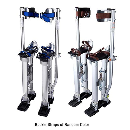 """ZeHuoGe Drywall Stilts 24""""-40"""" Adjustable Aluminum Tool Stilt for Painting Taping or Cleaning US Delivery"""