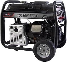 Gerador Gasolina Toyama Injeção Eletrônica 9,4kw Monofásico Avr Bivolt Partida Elétrica com Rodas Tg13000efi-e