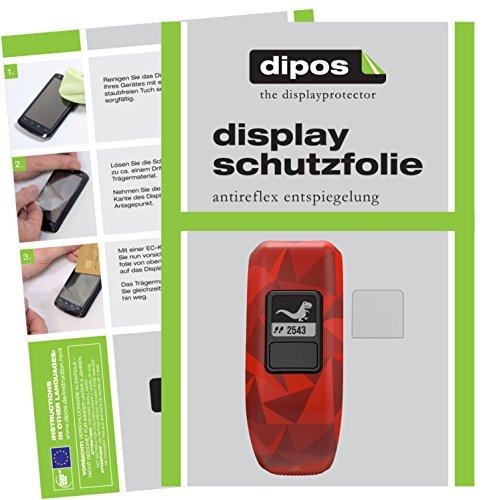 dipos I 6X Schutzfolie matt kompatibel mit Garmin Vivofit Junior 2 Folie Bildschirmschutzfolie
