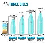 Zoom IMG-1 hompo bottiglia acqua in acciaio