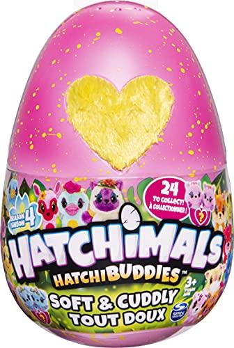 Hatchimals Plush 6056664 CollEGGtibles Kuschelplüsch in pinkem Ei