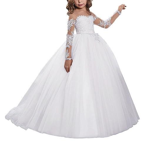 15ec79c71 Children White Elegant Dresses  Amazon.com