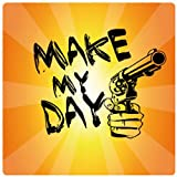 1art1 Dirty Harry - Make My Day, Pistole Poster-Sticker