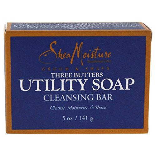 Shea Moisture Men's Utility Soap, 5 Ounce (Packaging may...