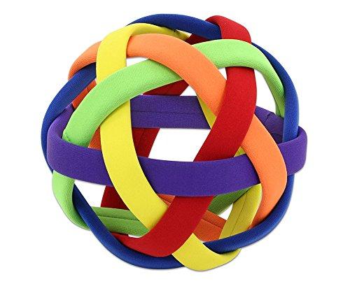 Betzold Greifball Easy Catch Ø 17 cm, mit weicher Gitterstruktur für Wurf- und Fangübungen - Sensorikbälle Therapiebälle