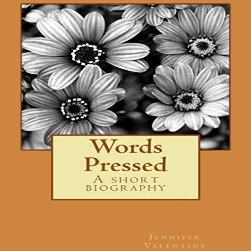 Words Pressed audiobook cover art