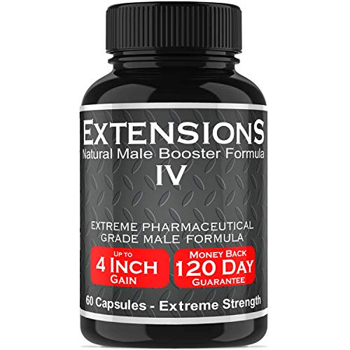 PherLuv Extensions IV Testosterone Enlargement Booster Increases Energy Mood and Endurance All Natural Performance Supplement for Men