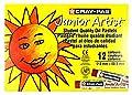 Sakura XCJP12 12-Piece Cray-Pas Chubbies Junior Artist Assorted Color Oil Pastel Set