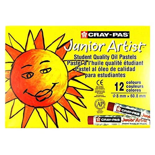 Cray-Pas Jr artista olio pastelli 12/Pkg-
