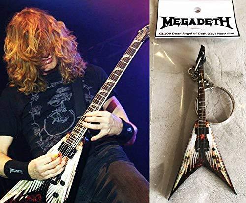 Keychain Guitarra Dean Angel Of Deth Dave Mustaine Megadeth