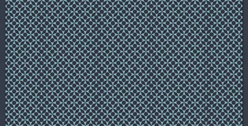Coryl Ecowave Monmbassa Tapis, Fibres Polyamide Heatset, Ocean, 98 x 50 cm