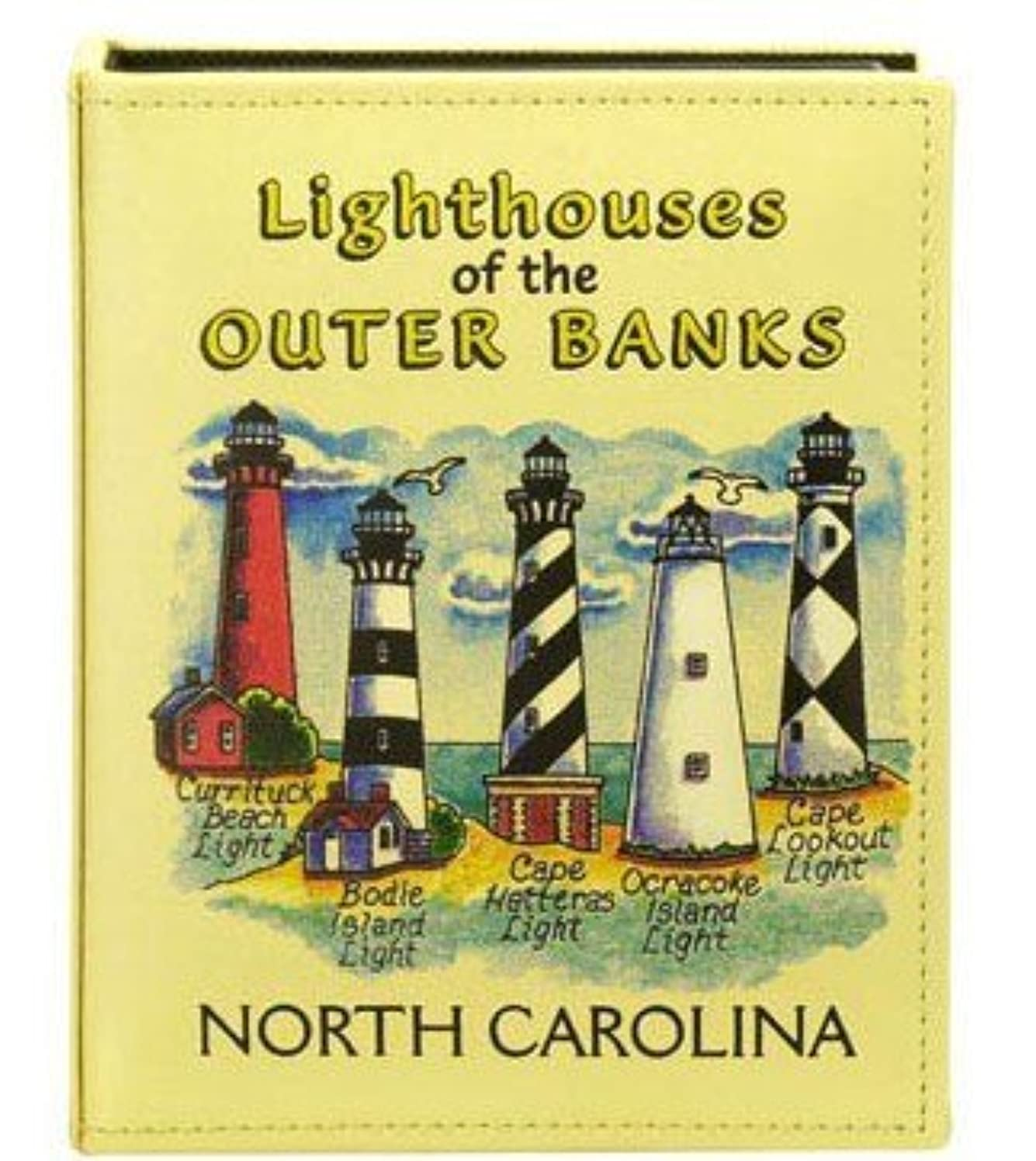 Outer Banks Lighthouses North Carolina Embossed Photo Album 100 Photos / 4x6