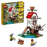 LEGO Creator - Tesoros de la Casa Árbol, Manualidad niños y niñas de Juguete de Piratas para Construir 3 en 1, Incluye Minifiguras, Barco Pirata y Aventuras (31078)
