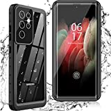 Oterkinfor Samsung Galaxy S21 Ultra Case,S21 Ultra Waterproof Casewith Built-in Screen Protector Dustproof Shockproof 360 Full Body Underwater Case for Samsung S21 Ultra 5G 6.8 inch (2021)