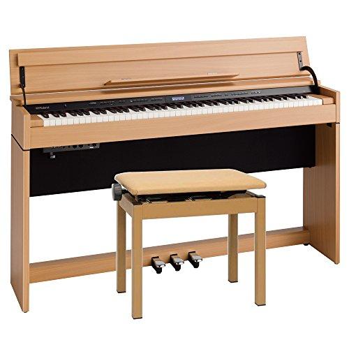 【組立設置無料サービス中】 Roland DP603-NBS 電子ピアノ 専用高低自在椅子付き ナチュラルビーチ調仕上げ Digital Piano