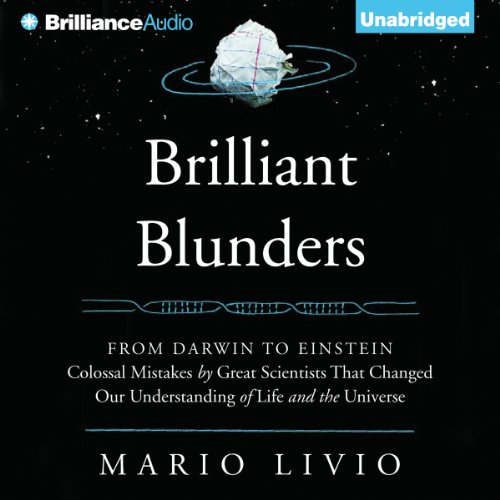 Brilliant Blunders audiobook cover art