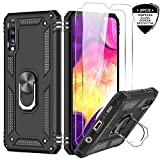 LeYi Galaxy A70/A70S Case with Ring Holder,Full Body