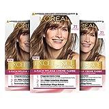 L'Oréal Paris Excellence Creme Permanente Haarfarbe, 100% Grauhaarabdeckung, Haarfärbeset mit...