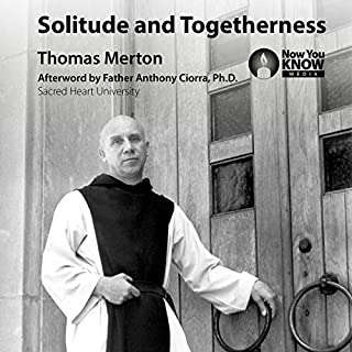 Solitude and Togetherness audiobook cover art