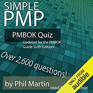 Simple PMP PMBOK Quiz audiobook cover art