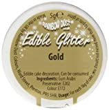Rainbow Dust Edible Glitter Gold 5g -