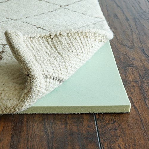 RUGPADUSA, Cloud Comfort, 6'x9', 1/2' Thick, Memory Foam, Luxurious Cushioned Rug Pad,...