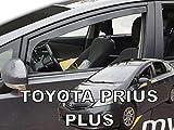 J&J AUTOMOTIVE Derivabrisas para TOYOTA Prius Plus 5 puerta 2011-2020 2 piezas