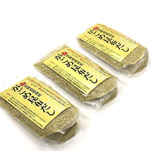 がごめ昆布 だし だしの素 顆粒 70g×3袋 (お味噌汁 約126杯分) ガゴメ昆布 の粘りと旨みが活きる おいしい出し調味料 北海道産 昆布