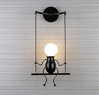 Lightlámpara De Pared Creativa 5 W Led para Decoración Interior Moderna Luz Blanca O Blanca Cálida