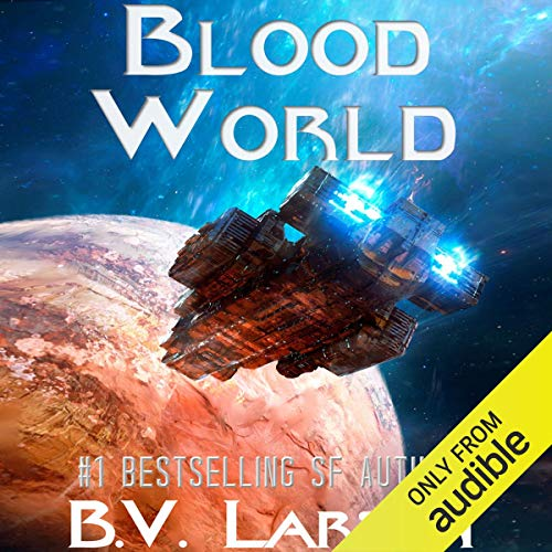 Blood World audiobook cover art