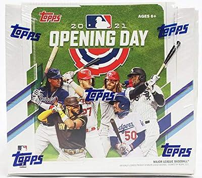 2021 Topps Opening Day Baseball Hobby Box (36 Packs/7 Cards: 36 Inserts)