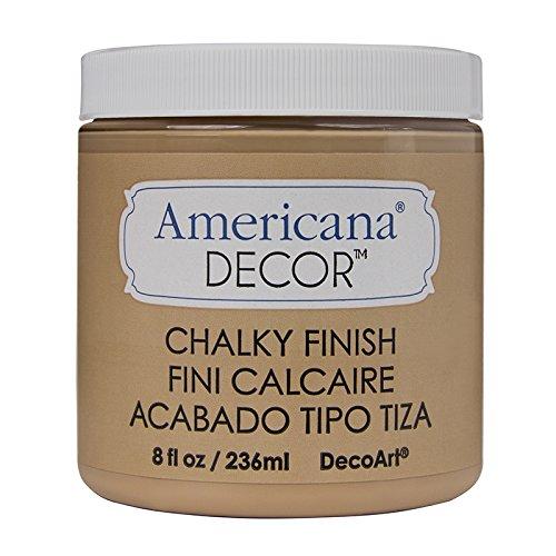 Deco Art - Pintura Vintage con Acabado de Tiza, diseño de Americana, acrílico, marrón, DecoArt 8 oz Heirloom