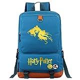 Mochila portátil de Dementor College, Bolso de la Escuela de Estudiantes de Moda Unisex Harry Potter Leisure Travel Rucksack Medio Azul
