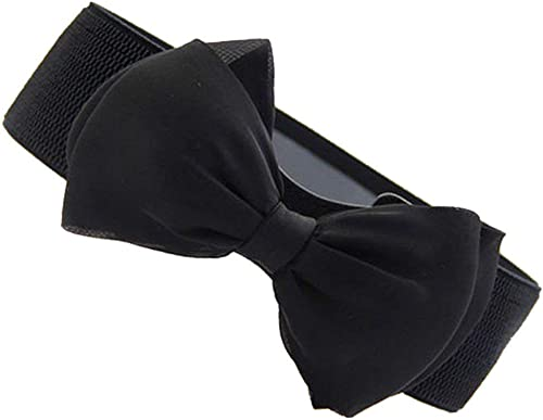 Electomania Women's Leather Bowknot Design Waist Belt